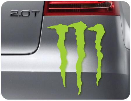 استیکر مانستر monster