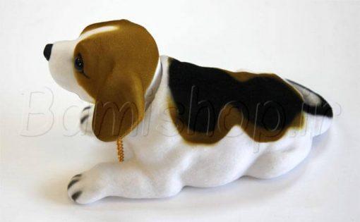 عروسک سگ داشبوردی سر لرزان