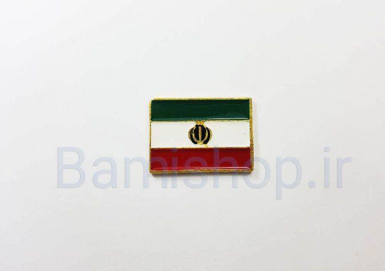 آرم برجسته پرچم ایران فلزی