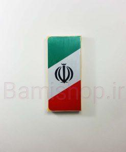 برچسب پرچم ایران مناسب برای پلاک ماشین