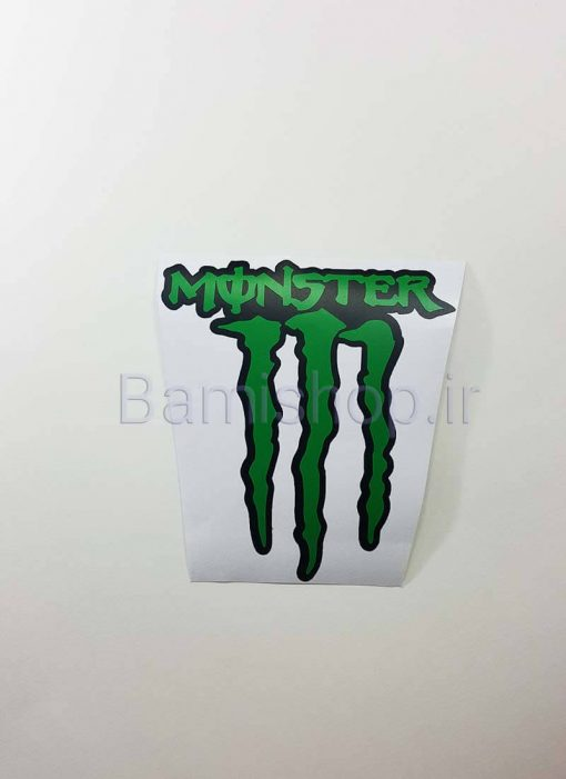 استیکر مانستر monster کوچک