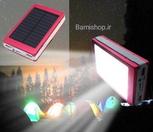 پاور بانک خورشیدی 20000میلی آمپر