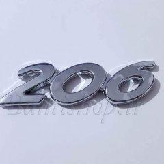 آرم برجسته 206 پلاستیکی