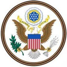 برچسب پشت شیشه ای لوگو آمریکایی