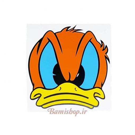برچسب اردک خشمگین مناسب برای صندوق عقب خودرو