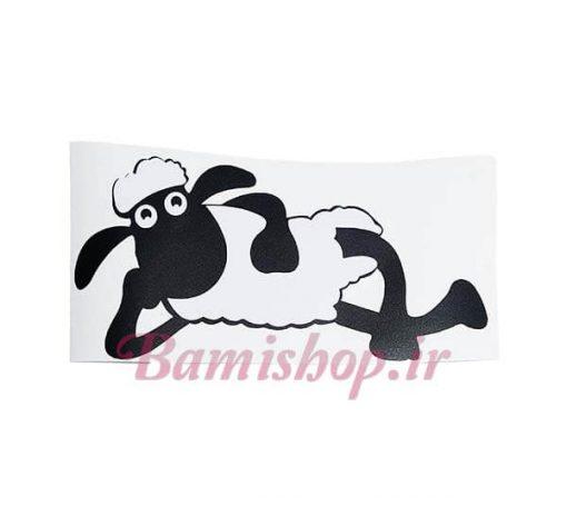 برچسب گوسفند ماشین