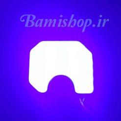 چراغ ال ای دی led cob سقفی پراید رنگ آبی