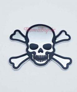 آرم فلزی دزدان دریایی جمجمه