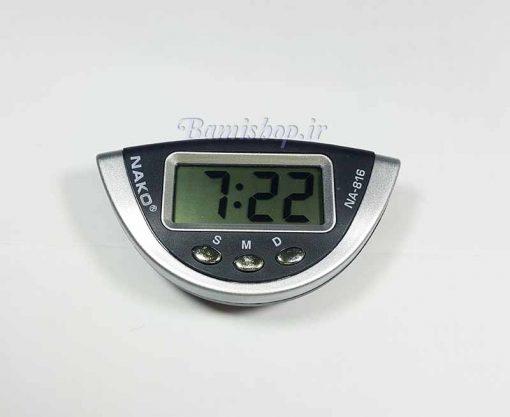 ساعت دیجیتال پایه دار مناسب برای داخل ماشین