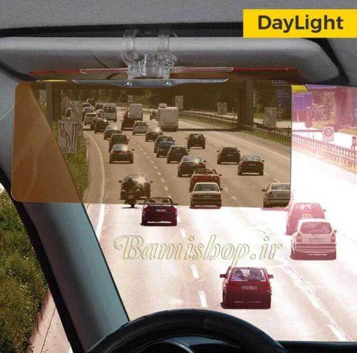 سایبان آفتابگیر دید در شب ماشین (طلق آنتی رفلکس خودرو) clear view