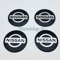 آرم رینگ فلزی نیسان Nissan چسبدار