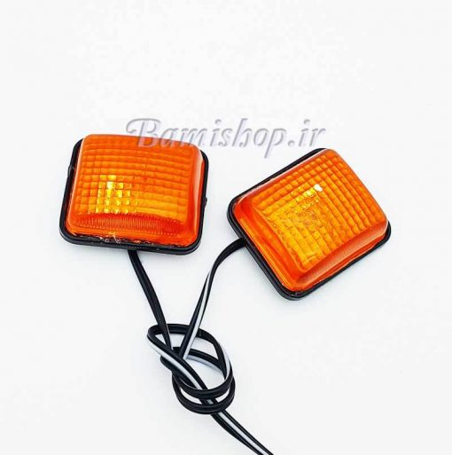 راهنما بغل نارنجی چسب دار