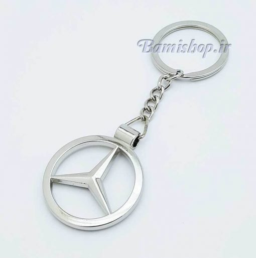 جاسوئیچی مرسدس بنز نقره ای Benz