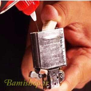 بنزین زدن فندک زیپو