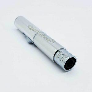 فندک قلمی فلزی نقره ای