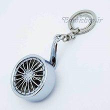 جاسوئیچی فلزی رینگ چرخدار