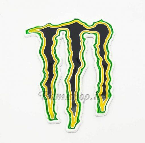 برچسب مانستر فلزی Monster