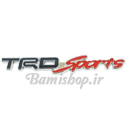 آرم trd sports فلزی چسب دار