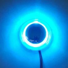 راهنما دایره کروم نور آبی