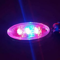 چراغ راهنما بغل قرمز آبی بیضی کروم
