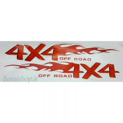 برچسب 4X4 offroad آفرود دوتایی