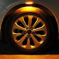 کیت نور پردازی گلگیر و رینگ خودرو