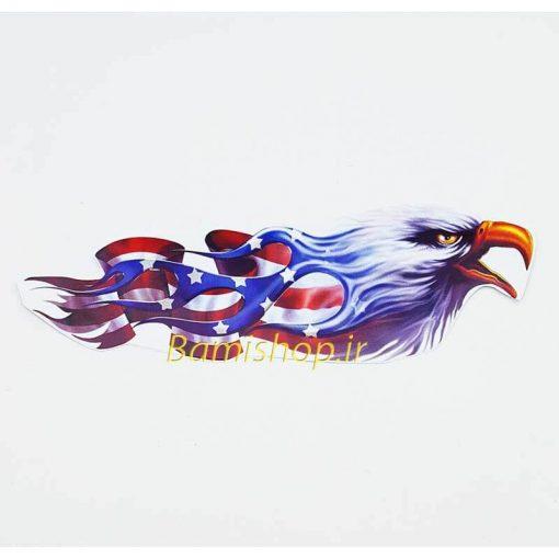 برچسب عقاب پرچم آمریکا