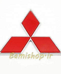 آرم میتسوبیشی چسبدار 10 سانتی Mitsubishi