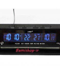 ساعت دماسنج و ولتمتر دار خودرو vst-7010v