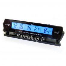 دماسنج ولتمتر و ساعت خودرو vst-7013v