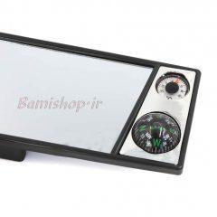آینه دماسنج دار و قطب نما دار (درجه دار) خودرو