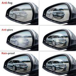 برچسب ضد آب آینه بغل خودرو ( ضد بخار و تابش خیره کننده)