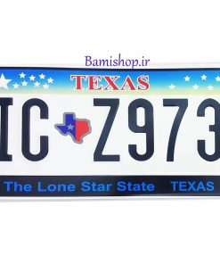 پلاک خارجی تزیینی تگزاس
