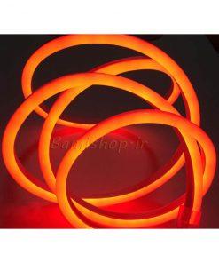 ریسه نئون فلکسی ال ای دی قرمز 12 ولت