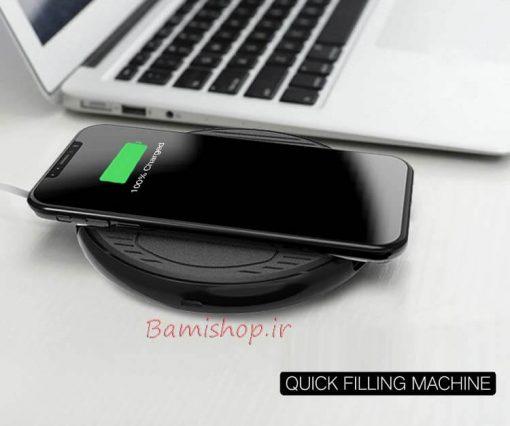 استند شارژر بی سیم موبایل