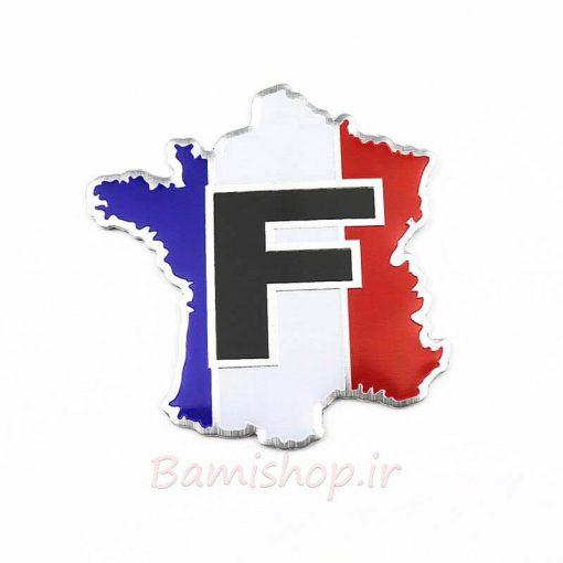 آرم پرچم نقشه فرانسه