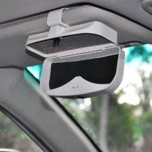 جا عینکی آفتابگیر کلیکی خودرو