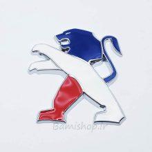 آرم شیر عقب 206 و 207 طرح پرچم فرانسه